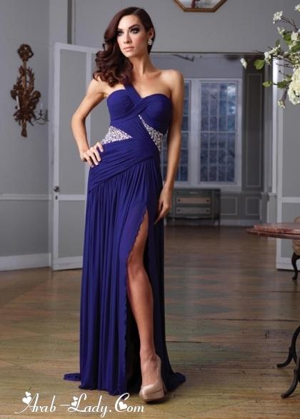 تألقي كالنجوم بهذه الفساتين الرائعه