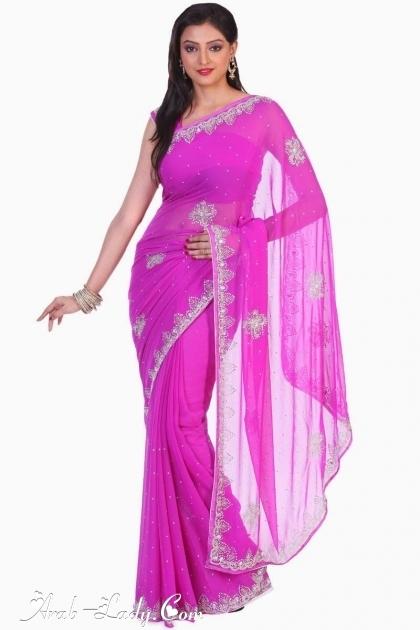 مجموعه رائعه من الساري الهندي بألوان ستسحر عيونكم