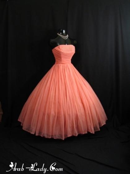 تشكيلة راقية من الفساتين القصيرة المنفوشة