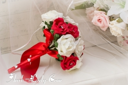 صور بوكية ورد العروسة اخر رقه