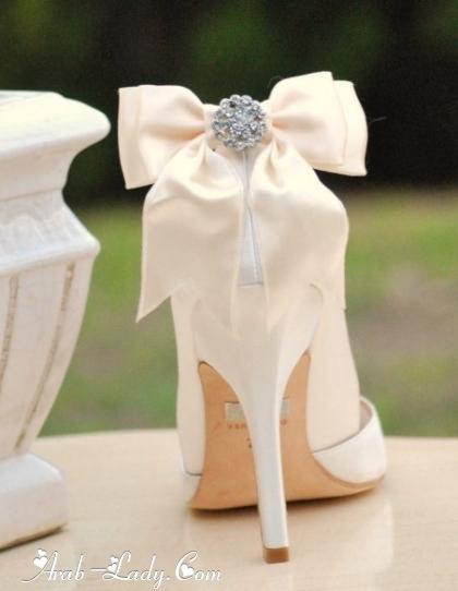 صور جديد احذية العروسة موضة 2014