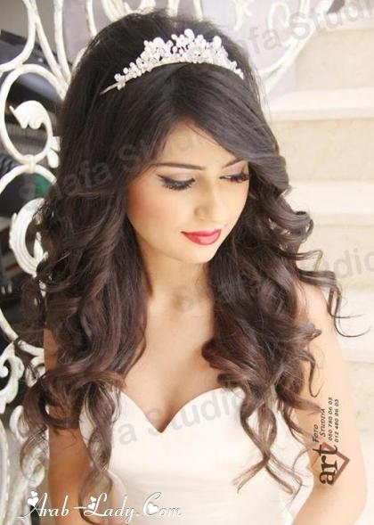 تسريحات للعرائس غاية في الرومانسية والجمال مجلة المرأة