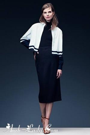 مجموعة شتاء H&M  باللونين الأبيض والأسود