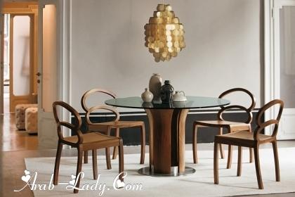 رفاهية الديكورات في التصميمات الحديثة لغرف الطعام 140525028636.jpg