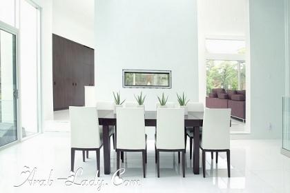 رفاهية الديكورات في التصميمات الحديثة لغرف الطعام 140525030844.jpg