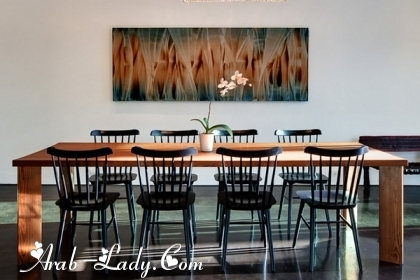 رفاهية الديكورات في التصميمات الحديثة لغرف الطعام 140525034371.jpg