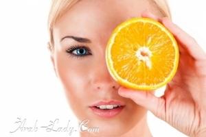 بالتجربة; البرتقال والحليب لتبييض بشرة الجسم !