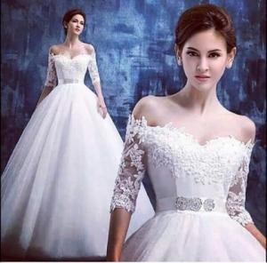 فساتين زفاف كوني معا الملكه في يوم زفافك