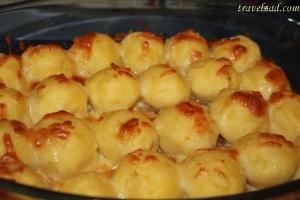 كرات البطاطس بالدجاج ... طبقيها !
