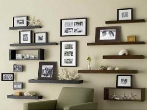 اختاري الأرفف العصرية لتزيين جدران منزلك بجمالية