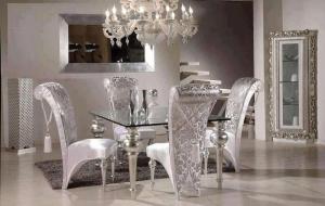 الديكورات الفضية تمنح منزلك فخامة مميزة وفاخرة