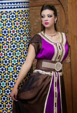 تشكيلة راقية من القفطان المغربي بجمالية الألوان والقصات لتتألقي