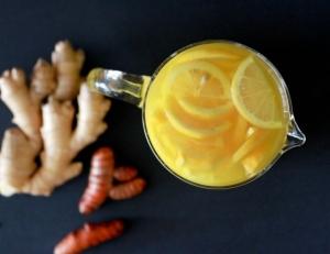 مشروبات بالزنجبيل والكركم والليمون تذيب الدهون