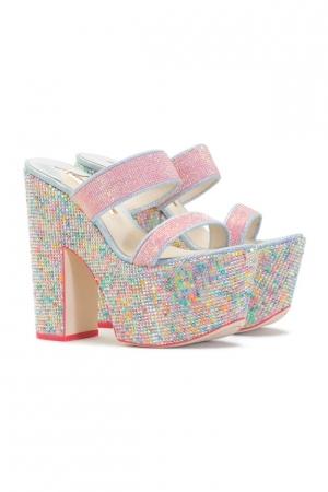 اختاري ألوان الحلوى وجماليتها في أحذية السهرة لصيف 2016