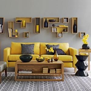 لمسة اللون الأصفر تزيد ديكور منزلك أناقة وجمالية في الخريف