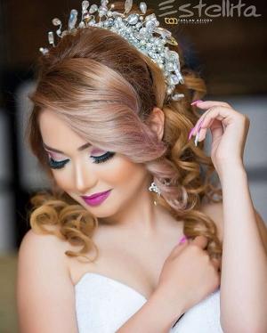 تسريحات ومكياج للعرائس ستبهركم بجمالها