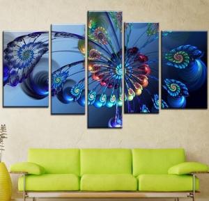 اختاري اللوحات الفنية المتنوعة لمنح جدران منزلك الأناقة الناعمة