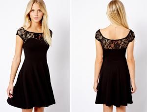 الفستان الكلاسيكي يقتحم صيحات الموضة الخريفية ليمنحك الجاذبية