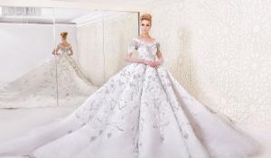 إطلاق تشكيلة راقية من فساتين الزفاف المنفوشة لأناقتك المثالية في هذا اليوم