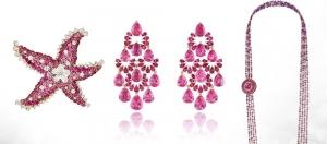 الياقوت الوردي أناقتك المثالية في مجموعة من المجوهرات الربيعية لموسم 2017