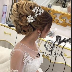 بالفيديو : تسريحة للعروس ستغرمون بجمالها