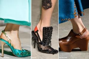 الزخارف التقليدية تميز الأحذية الخريفية لموسم 2016