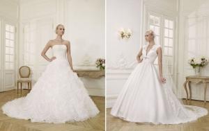 إطلاق تشكيلة راقية من فساتين الزفاف العصرية لموسم ربيع 2017