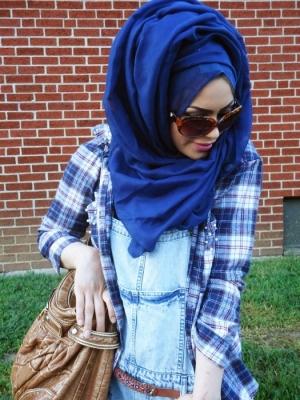 تعلمي كيفية لف الحجاب بطريقة عصرية لأناقة بارزة في شتاء 2017