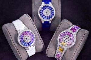 الألوان البراقة تميز ساعتك اليدوية الجديدة لموسم ربيع 2017