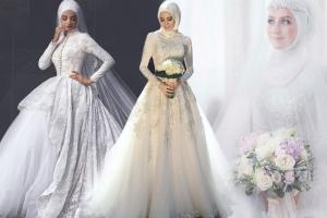 إطلاق تشكيلة راقية من فساتين الزفاف الربيعية للمحجبات