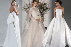 تشكيلة راقية من فساتين الزفاف مستوحاة من الأساطير لعروس 2017