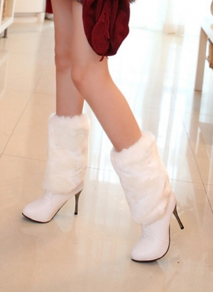 إطلاق تشكيلة راقية من أحذية الفرو المميزة والناعمة لموسم شتاء 2017