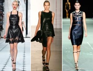 الفستان الجلدي أناقتك المثالية التي تزيدك تميزا في إطلالات الشتاء