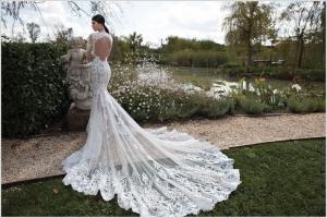 اختاري فستان زفافك بجاذبية قصة الظهر المكشوفة بجاذبية أنيقة لليلة العمر