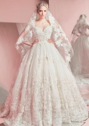 تشكيلة مميزة من فساتين الزفاف تحاكي الموضة العصرية بتوقيع زهير مراد