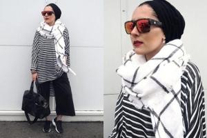 تألقي بحجابك مع هذه الملابس العصرية والمميزة الخاصة بموسم ربيع 2017