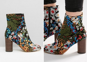 الورود تزين أحذية الشتاء ذات الرقبة القصيرة بجاذبية ساحرة ومميزة