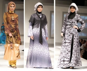الفساتين الفضفاضة أناقة المحجبات في ربيع 2017