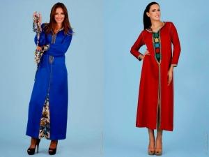 تشكيلة راقية من الجلابة المغربية تتميز بها عروض أزياء 2017