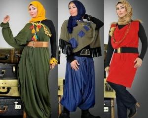 إطلاق تشكيلة راقية من أزياء المحجبات الخاصة بموسم شتاء 2017