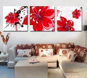 اختاري اللوحات الفنية لتمنحي فضاءات منزلك تلك الجمالية والجاذبية