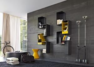 امنحي جدران منزلك الجمالية والأناقة باعتماد لمسة الأرفف العصرية