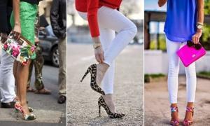 تألقي بجمالية الأحذية المنقوشة في إطلالاتك الربيعية لموسم 2017