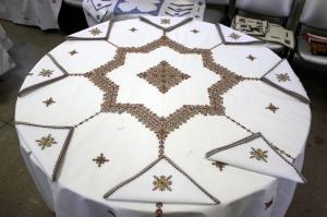 الدقة والجودة تميزان جمالية التطريز المغربي