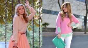 تشكيلة راقية من ملابس الربيع النساء بالألوان القوية تتربع على عرش موضة 2017