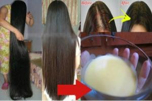 وصفة لتكثيف الشعر الخفيف
