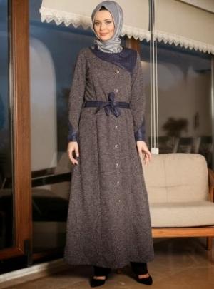 باقة مميزة من ملابس المحجبات الشتوية تطلقها الماركات العالمية
