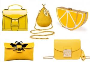 تألقي مع حقيبة الكلاتش الجديدة باللون الأصفر كصيحة راقية في 2017