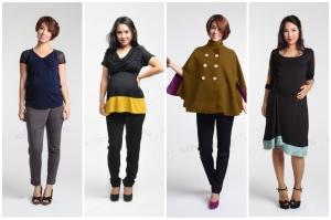 تشكيلة مميزة من الملابس الأنيقة للحوامل بتوقيع نخبة من المصممين