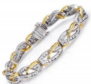 طرح تشكيلة مميزة من الأساور الذهبية لكل امرأة تعشق الأناقة